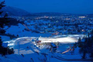 Die Villacher Alpen Arena ist ein Leistungszentrum für Nordische Spitzensportler. - Foto: Region Villach Tourismus / Adrian Hipp