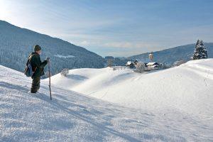 Winterlandschaft bei Arriach. – Foto: Region Villach Tourismus / Adrian Hipp