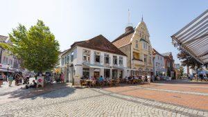 Die Fußgängerzone. – Foto: Eckernförde Tourismus & Marketing GmbH