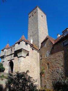 Rothenburg gilt als Musterbeispiel einer organisch gewachsenen, in seinen Bauensembles harmonisch gefügten Mittelalterstadt. – Foto: Dieter Warnick