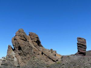 Bizarr: die Felsformationen von Las Canadas.