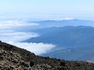 Über den Wolken: Blick vom Teide über den gleichnamigen Nationalpark.