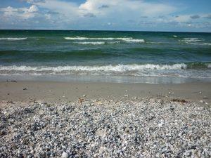 Am Strand bei Nyköbing.