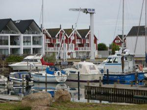 Am Hafen von Nyköbing.