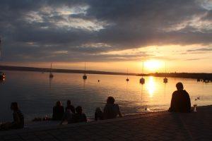 Sonnenuntergang am Ammersee. – Foto: Kunz-PR