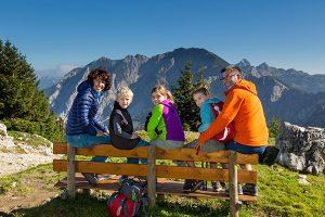 Familien mit Kindern sind in Pfronten ganz hervorragend aufgehoben. – Foto: Pfronten Tourismus / E. Reiter