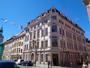 Das Hartmannsche Haus ist ein palaisartiges Gebäude, das von 1720 bis 17245 entstand. Es ist für viele das schönste Haus der Stadt. – Foto: Dieter Warnick